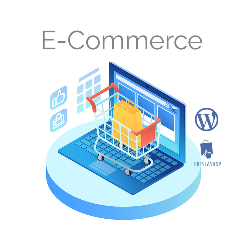 Realizzazione e-commerce wordpress prestashop