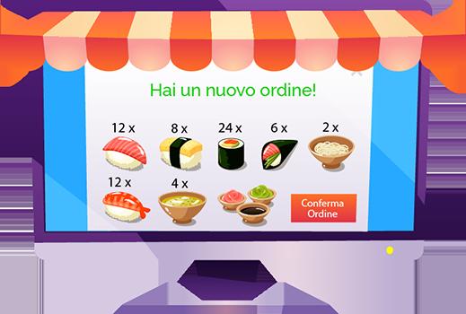 Sito per Consegne a Domicilio: Food Delivery con 1 click!